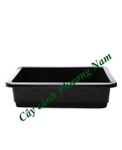 Khay trồng rau 65 x 42 cm (đen)