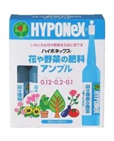Phân bón Hyponex - Dinh dưỡng dạng ống tiêm